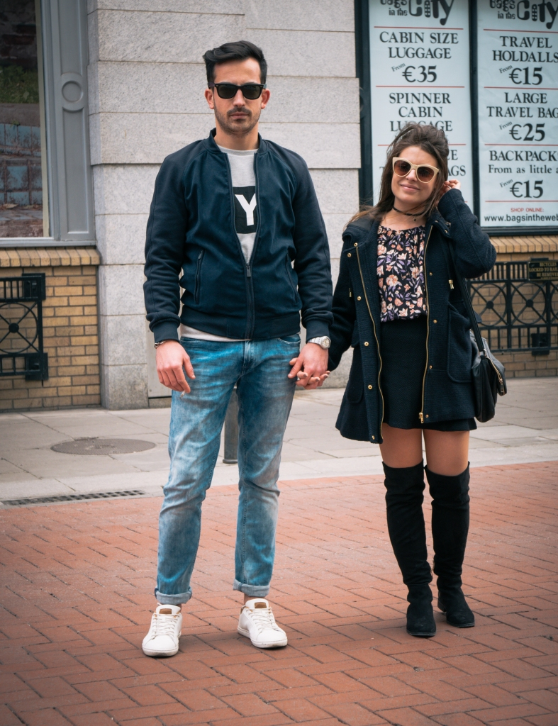 Couple on Dublin street