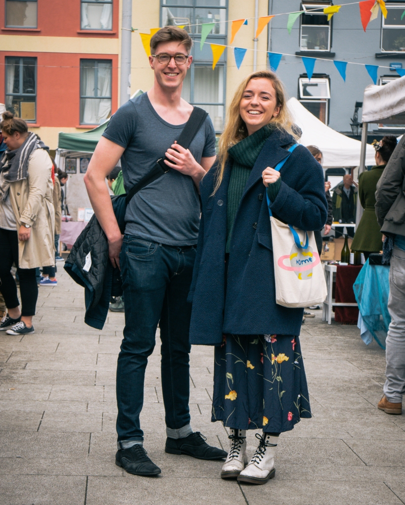Man and Woman at Dublin Market
